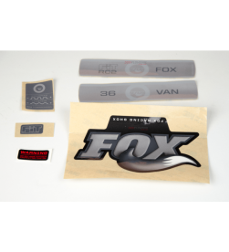 Kit Pegatinas Adhesivos Horquilla Fox Van 36 Fit RC2 10