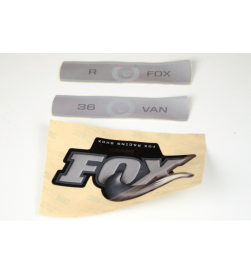Kit Pegatinas Adhesivos Horquilla Fox Van R 36 09-10