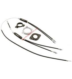 """Rotor Bmx Completo X-Ufo Fishbone con Cables y Fundas para horquilla 1"""" (25,4mm)"""
