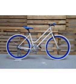 Bicicleta Paseo Chica Azul Blanco