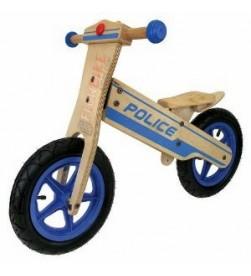 Bicicleta Aprendizaje Madera Policia