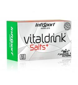 Infisport Vitaldrink Salts+ 60 capsulas