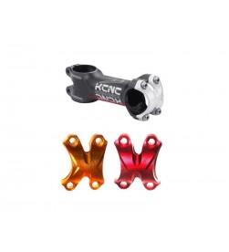 Potencia KCNC SC WING 31.8mm MTB Carretera Varias Medidas Tapa Color