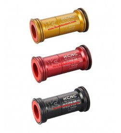 Caja Pedalier KCNC K-type a presión BB90 (89.5/92mm) para ejes de 24/25mm