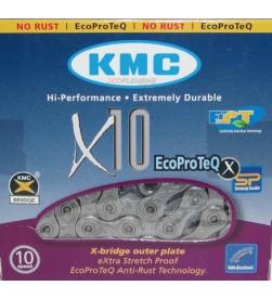 Cadena KMC X-10 EPT anticorrosión 10v