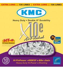 Cadena KMC X10e Bicicleta Eléctrica 10v