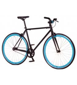 Bicicleta Fixie Kamikaze Negro/Azul