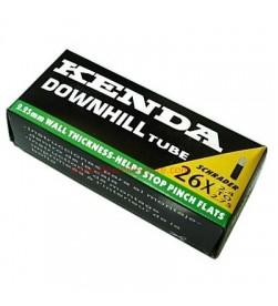 Cámara Kenda Downhill 2.25mm 26x2.40/2.75 valvula moto
