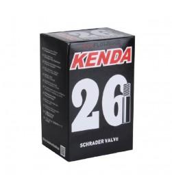 Cámara Kenda MTB 26x2.30-2.70 v.schrader