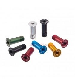 Tornillos KCNC Aluminio huecos para rulina Jockey Wheel. Colores