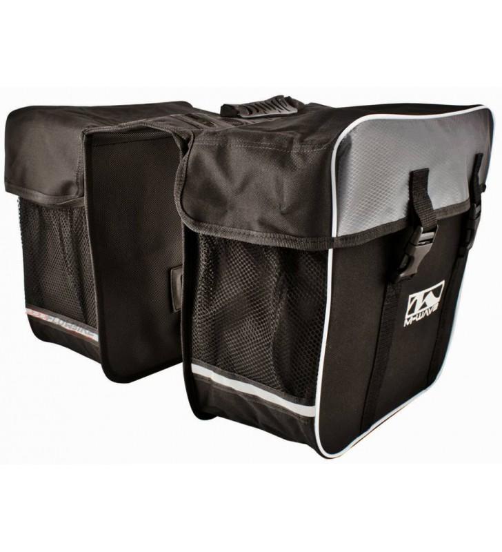 30 litros XLC bicicleta doble pack bolsa para portaequipajes 29 x 14 x 34 cm aprox