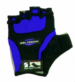 Guantes Cortos M-wave Gel Touch Azul