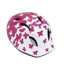 Casco Met Super Buddy 46/53cms Rosa Mariposas