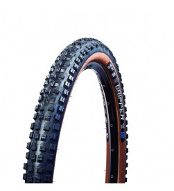 Cubierta mtb MSC Gripper 29x2.30 Tubeless 2C DH SuperShield 60tpi Marron E25