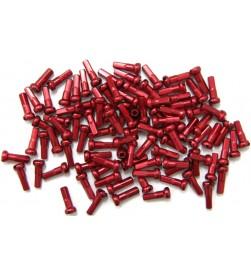 Cabecillas de Radio MSC Aluminio Rojo