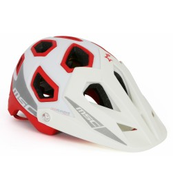 Casco MSC Bikes Enduro MIPS Blanco/Rojo