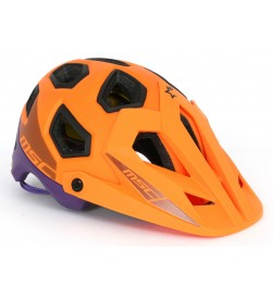Casco MSC Bikes Enduro MIPS Naranja/ Lila