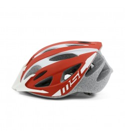 Casco Mtb outmold MSC Bikes HM15 Rojo-Blanco
