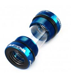 Cazoletas pedalier MSC roscadas BSA 68/73mm para Shimano - Azules