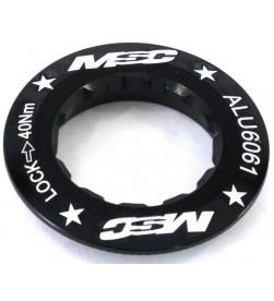 Cierre Cassette MSC Aluminio Negro 12d