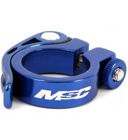 Cierre Tija sillin MSC QR azul (Varias medidas)