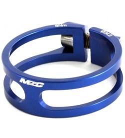 Cierre tija sillín MSC Ultralight Aluminio Azul 31.8 / 34.9mm (Tornillo Titanio)