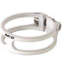 Cierre tija sillín MSC Ultralight Aluminio Blanco 31.8 / 34.9mm (Tornillo Titanio)
