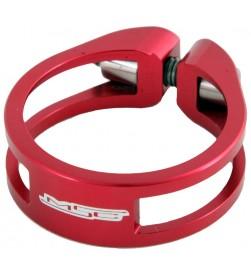 Cierre tija sillín MSC Ultralight Aluminio Rojo 31.8 / 34.9mm (Tornillo Titanio)