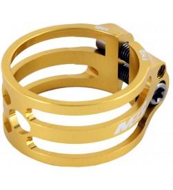 Cierre tija sillín MSC Ultralight Security II Aluminio Dorado 34.9mm (Cuadros Carbono)