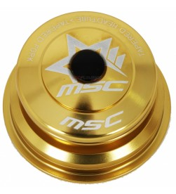 "Dirección MSC Tapered Semi Integrada (1,1/8""-1,5"") Dorado"