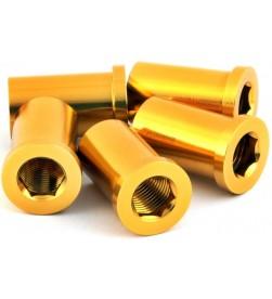 Hembra MSC M8x16/18mm Aluminio Dorado (Unidad)