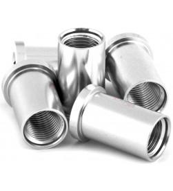 Hembra MSC M8x16/18mm Aluminio Plata (Unidad)