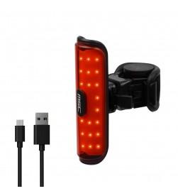 Luz Trasera MSC Roval 50 lumens (bateria litio y cable USB)