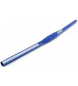 Manillar Plano MSC Aluminio 660mm 5º Azul