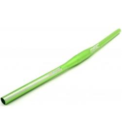 Manillar Plano MSC Aluminio 660mm 5º Verde