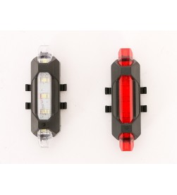Set Luces Led Seguridad MSC FR4 Delantera+Trasera