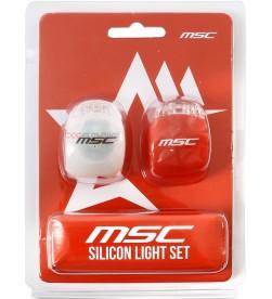 Set Luces Led Seguridad MSC delantera+trasera