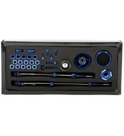 Set Tornilleria Aluminio MSC Ultralight Azul