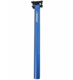 Tija de Sillin MSC 410mm Aluminio Azul