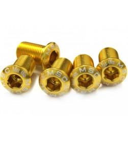 Tornillo Plato Alum MSC M8x13.5 Dorado