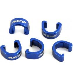 Clips sujetacables MSC Azul (Pack 5)