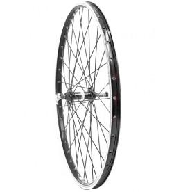 """Rueda 700"""" Trasera Mach1 810 piño rosca 6/7v Aluminio cierre rapido"""