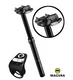 Tija Telescopica Magura Vyron eLECT inalámbrica 30.9mm 125mm