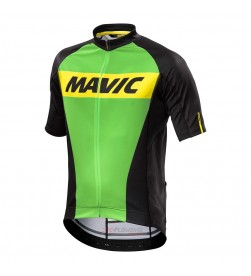 Maillot MAVIC Cosmic Light Green Jersey (Verde /Negro)