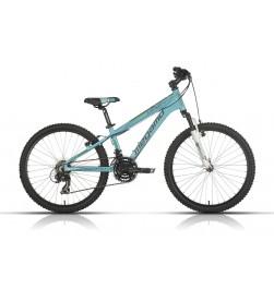 """Bicicleta Megamo 24"""" Open Replica Verde con suspension"""