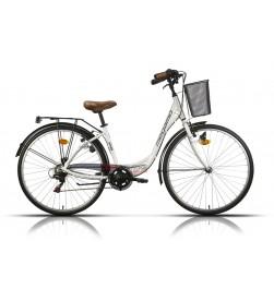 "Bicicleta Megamo Paseo 28"" TAMARIU Blanco"