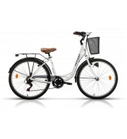 "Bicicleta Megamo Paseo 26"" RONDA Blanca"