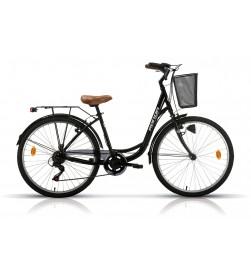 """Bicicleta Megamo Paseo 26"""" RONDA Negra"""