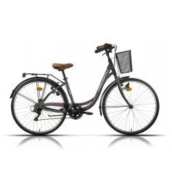 "Bicicleta Megamo Paseo 28"" TAMARIU Negra"