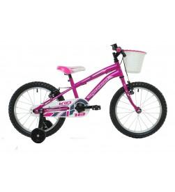 "Bicicleta Megamo 18"" Kid Girl Rosa"